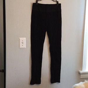 Diane Von Furstenberg size 8 black stretch pant